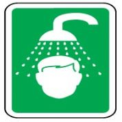 Safe Safety Sign - Emergency Shower 002